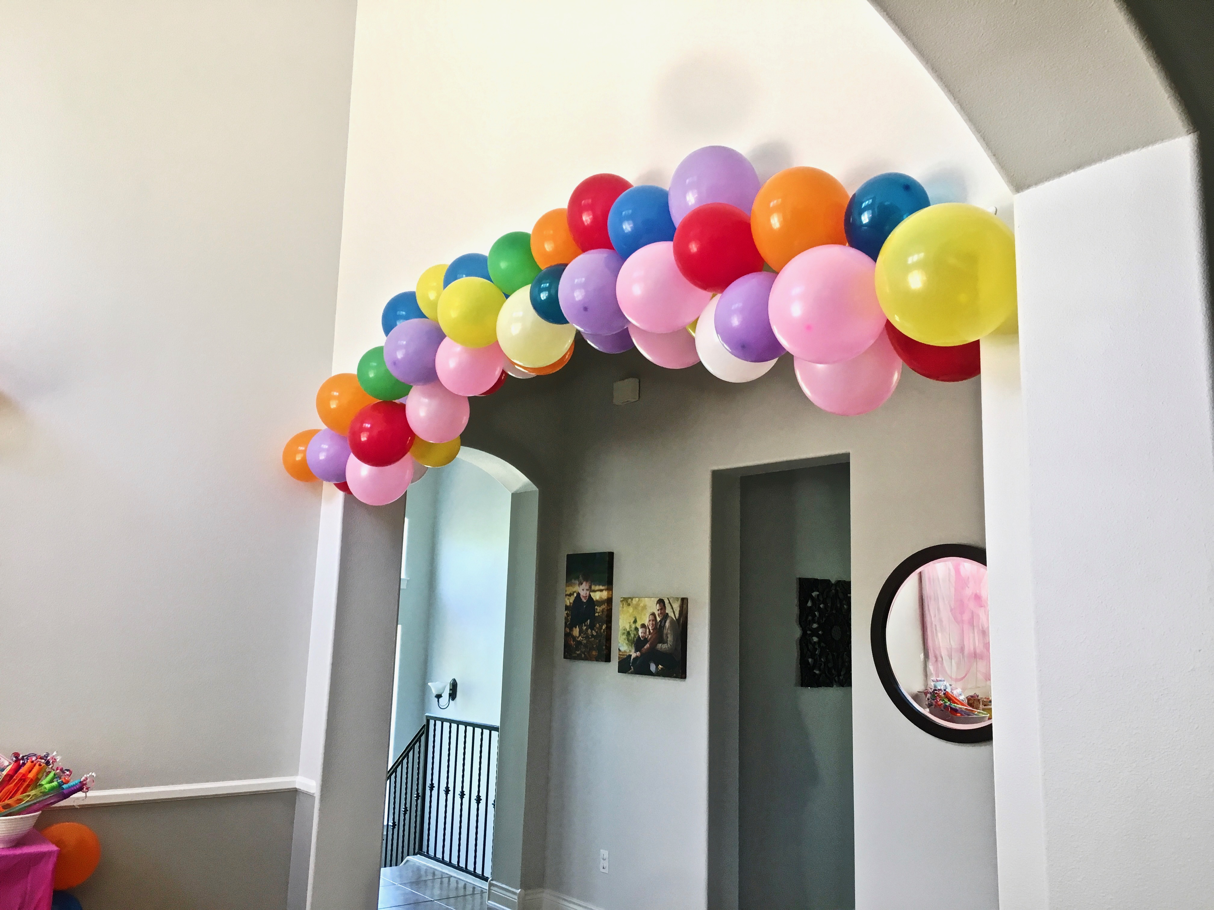 How To Easily Make A Balloon Garland Fourpointsmom Com